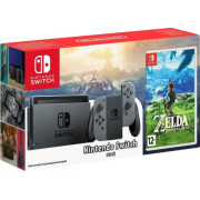 Игровая приставка Nintendo Switch Gray +The Legend of Zelda: Breath Of The Wild 0615200999605